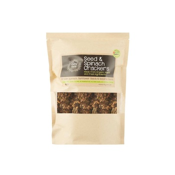 Chilly Date Seed & Spinach Cracker 50g