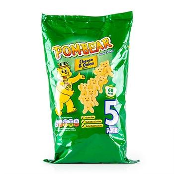 Wolf Pommbear Cheese & Onion Multipack 19g