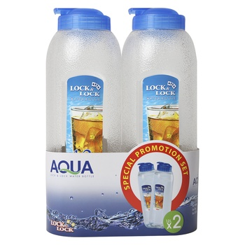 Lock & Lock Water Bottle 1.2 Litre 2 pcs set