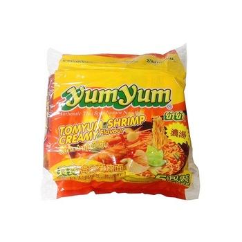 Yum Yum Inst Ndles Tomyum Shrimp Crmy 5X70g