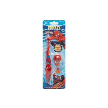 Firefly Spiderman Tooth Brush With 3D Cap