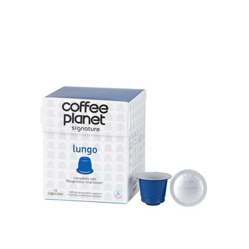 Coffee Planet Nespresso Compatible Capsules Lungo 10 x 5g