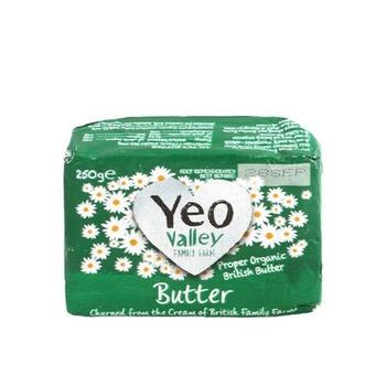 Yeo Valley Organic Butter 250g