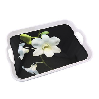 Serving Tray with Handle - 17.5 inch
