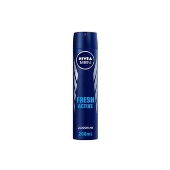 Nivea Men Fresh Active Deodorant Spray 200ml