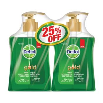 Dettol Gold Daily Clean Liquid Handwash 2 x 200 ml @ 25% Off
