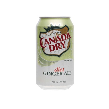 Canada Dry Ginger Ale - Diet 12 Oz.