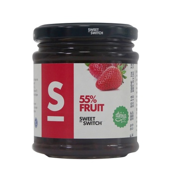 Stevia Sweet Switch 55% Fruit Strawberry Spread 210g