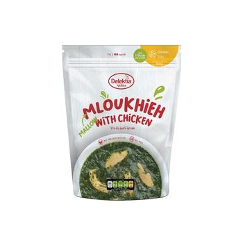 Delektia mloukhieh with chicken (frozen) 500g