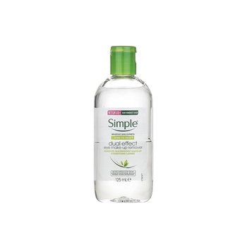Simple KIND TO SKIN Dual Effect Eye Make-up Remover 125 ml