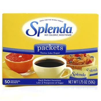 Splenda No Calorie Sweetener Sachets 50g