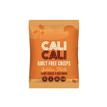 Cali Cali Tangy Cheese&Onion Crisp 84g