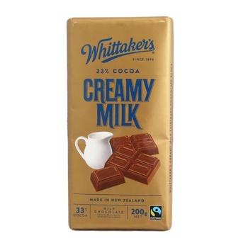 Whittakers Creamy Milk Bar 200g