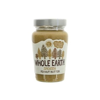Whole Earth Peanut Butter Smooth 340g