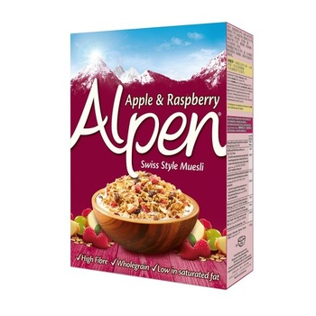 Alpen Muesli Raspberry & Apple 560g