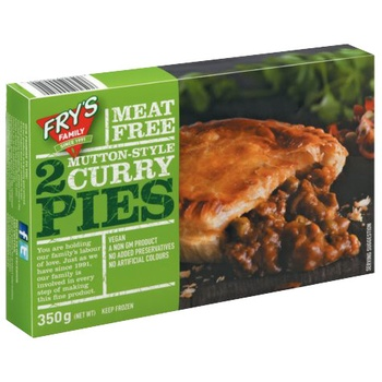 Frys Mutton Style Curry Pies 350g
