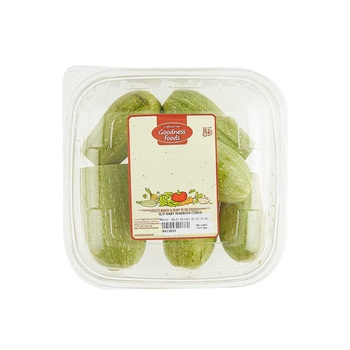 Goodness Foods Baby Marrow Cored 500g