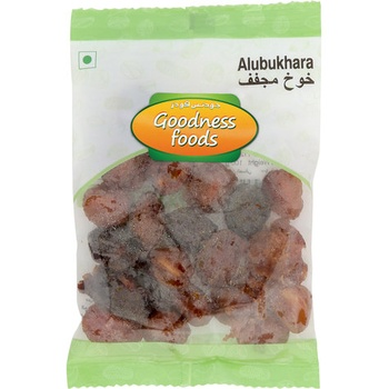 Goodness Foods Alubukhara 100g
