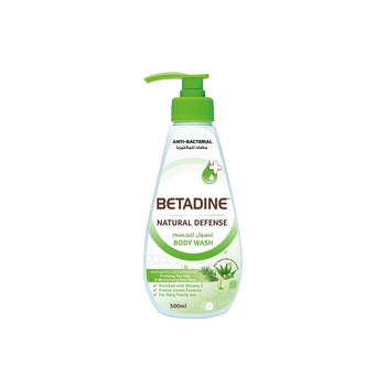 Betadine Body Wash Tea Tree Oil 500ml