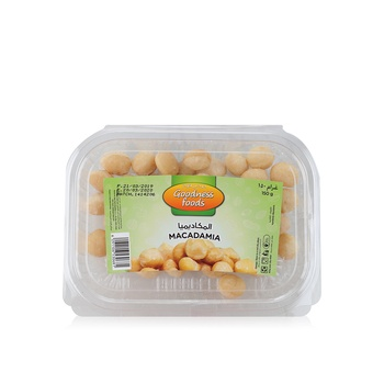 Goodness Foods Macadamia Nuts 150g