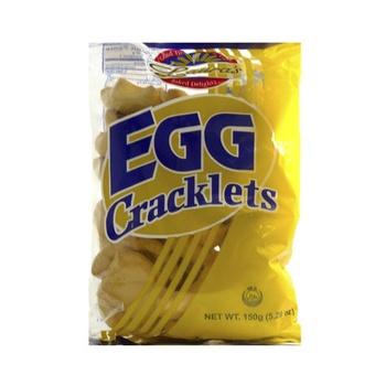 Lauras Egg Cracklets 150g
