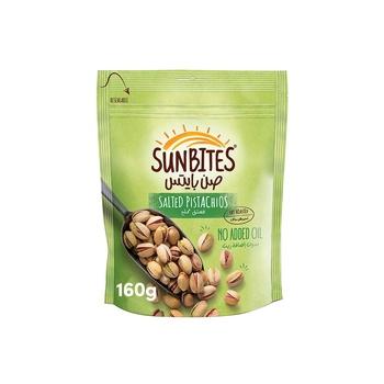 Sunbites Salted Pistachios 160g