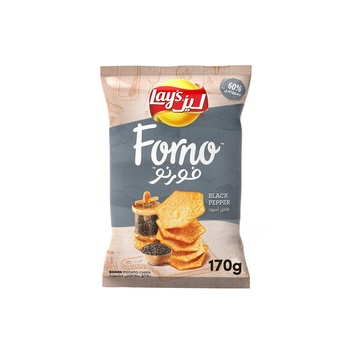 Lays Forno (Baked) Black Pepper 170g