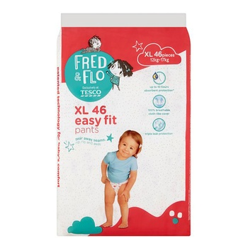Tesco Fred & Flo Baby Pant XL 46 Pieces