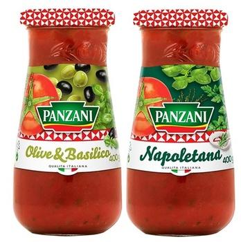 Panzani Assorted Pasta Sauce 2X400g