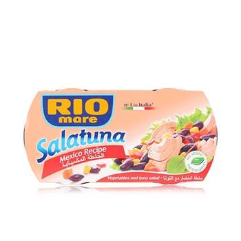 Rio mare salatuna canned tuna meat in mexican recipe 160gm pack of 2