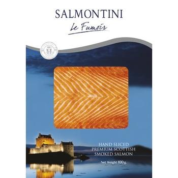 Salmontini Smoked Salmon 100g