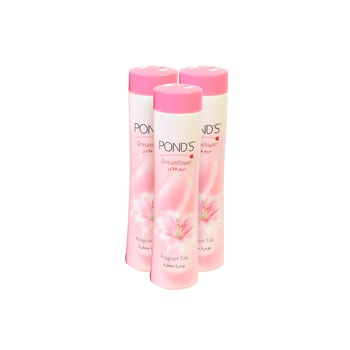 Ponds Dream Flower Talc 3 x 400 gm (2+1 Free)