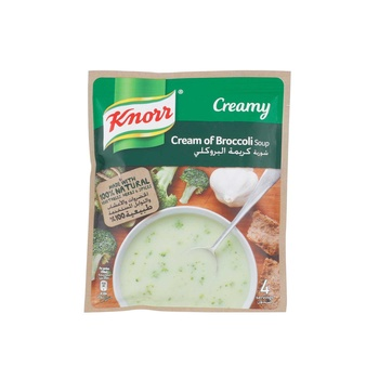 Knorr Soup Cream Of Broccoli 12x72g