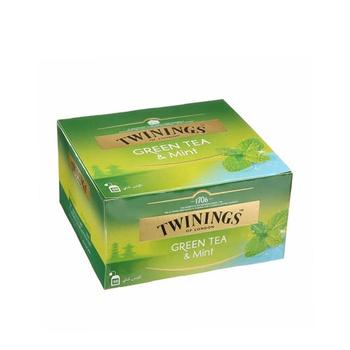 Twinings Green Tea Mint 50's