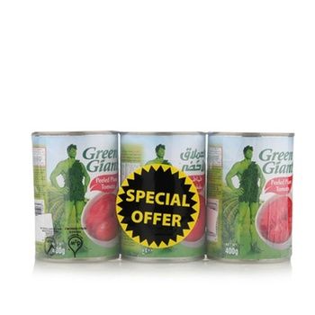 Green Giant Whole Peeled Tomato 3 x 400gm @ Special Price