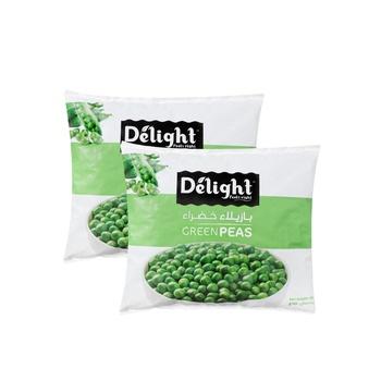 Delight Garden Peas 800g Pack Of 2