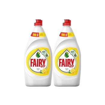 Fairy Ultra Lemon 2X600ml