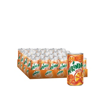Mirinda Orange Mini Can 30 x 150 ml