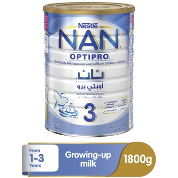 Nestle Nan Optipro Baby Food Formula 1  3 Years 1.8kg