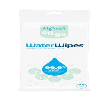 Water Wipes - Sports & Travel Wipes 28 Sheets