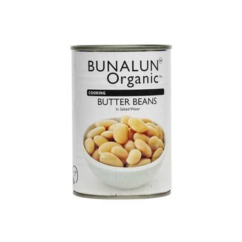 Bunalun Organic Butter Beans 400g
