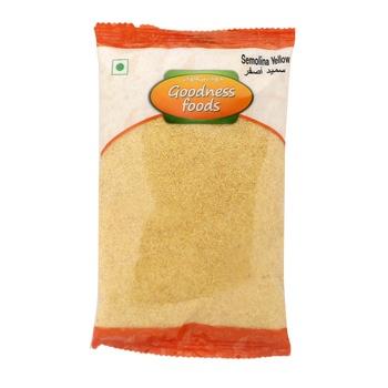 Goodness Foods Semolina Yellow 500g