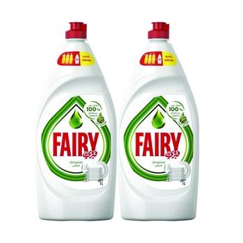 Fairy Dishwashing Liquid Original 2 x 1ltr @ 25% Off