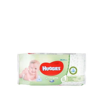 Huggies Baby Wipes Aloe 56 pcs
