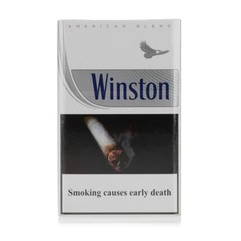 Winston Cigarettes Silver 20s