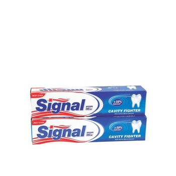 Signal Cavity Fighter Toothpaste 120ml Pack Of 2