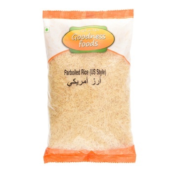 Goodness Foods Parboiled Rice (US Style) 1kg