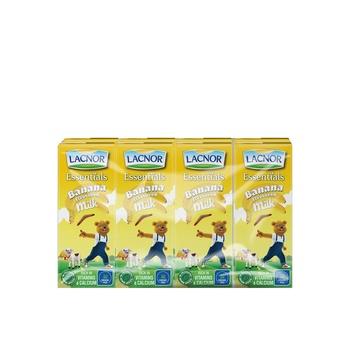 Lacnor Banana Milk 8 X 180ml