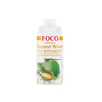 Foco Uht Coconut Water/Pine 330 ml