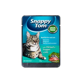 Snappy Tom Pilchards And Red Snapper In 85 G